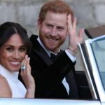 Meghan Markle y Harry se despiden de Buckingham